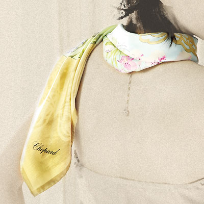 【Chopard×山田平安堂】ベルト/le  jardin( ル ジャルダン)スカーフ