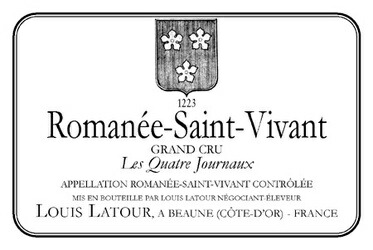 Romanee St.Vivant Les Quatre Journaux