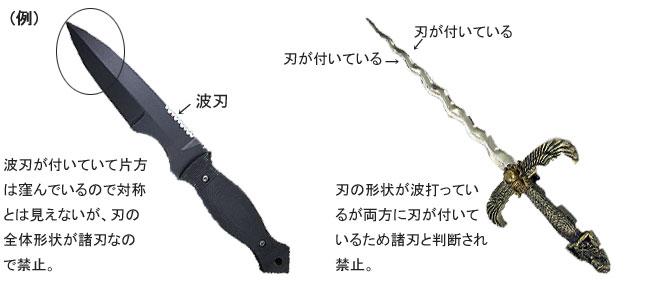 法 違反 銃刀