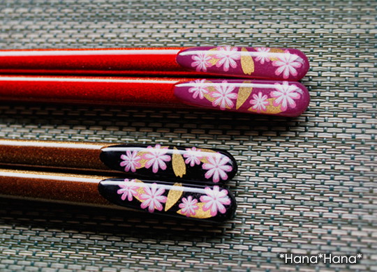 天宝秋桜・箸