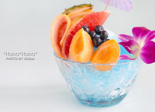 ソワール ガラス かき氷 ボウル(小鉢) ブルーハワイ