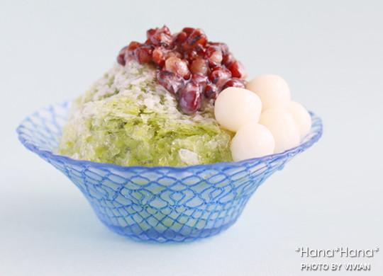 ハナ ガラス かき氷 ボウル(小鉢) ブルー