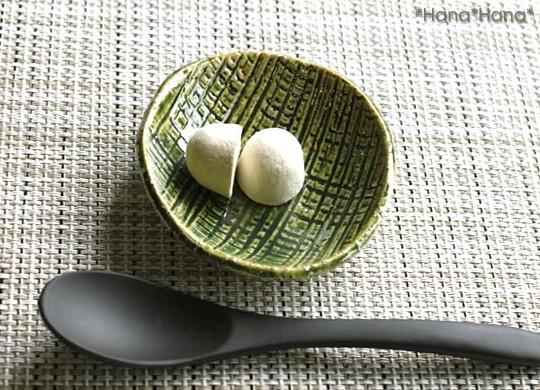 匠の技・織部/珍味丸皿