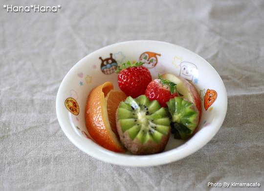 アンパンマン フルーツ皿 15cm