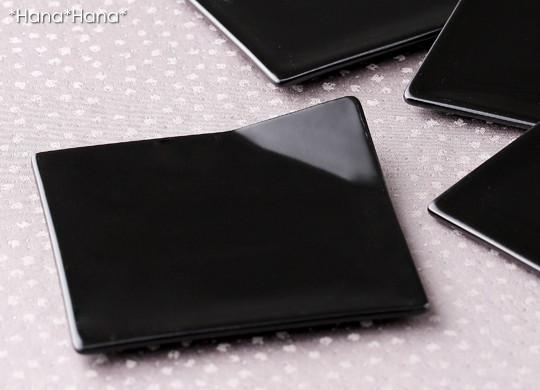 オジュウ 折皿 11cm (ブラック)