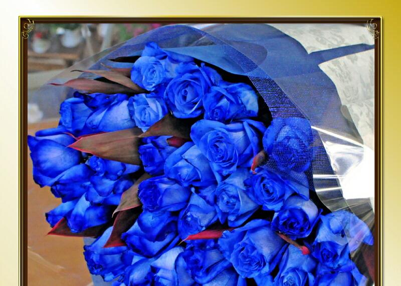 青いバラ(ばら、薔薇)ブルーローズ/BlueRose 青いバラ 青バラ 青い薔薇 青薔薇