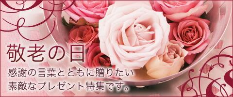 敬老の日花