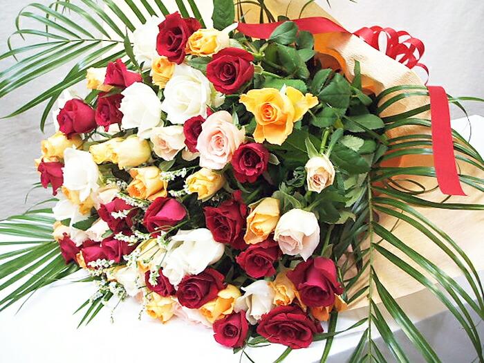誕生日プレゼントのバラ