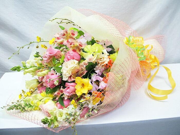 誕生日プレゼントの花束