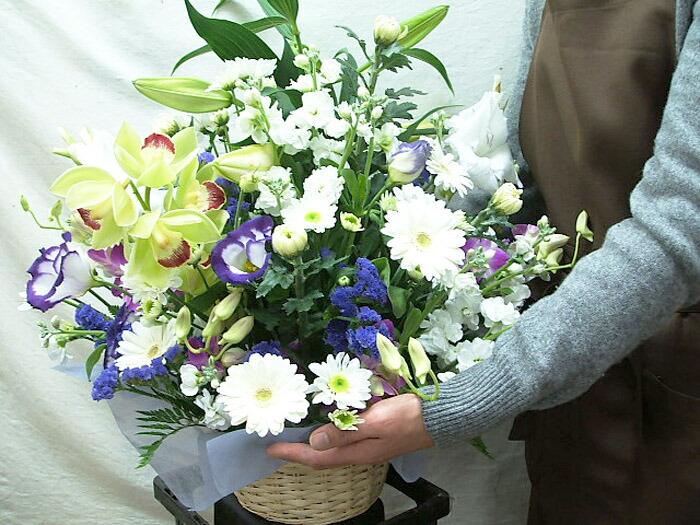 お供え 花 アレンジメント お悔やみ