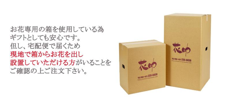 ギフト専用の箱でお送りしますので、贈り物としても安心
