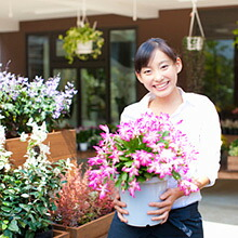 お花屋さんから手渡し商品