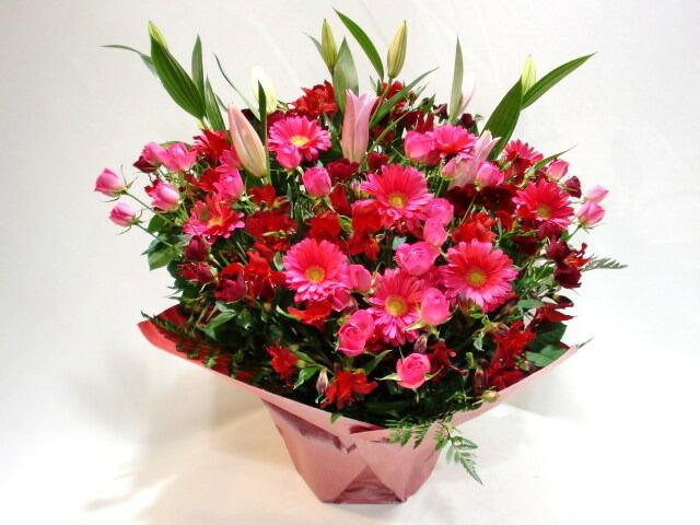 開院祝いに贈るアレンジメント花