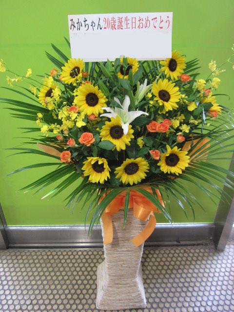 開店祝い 向日葵
