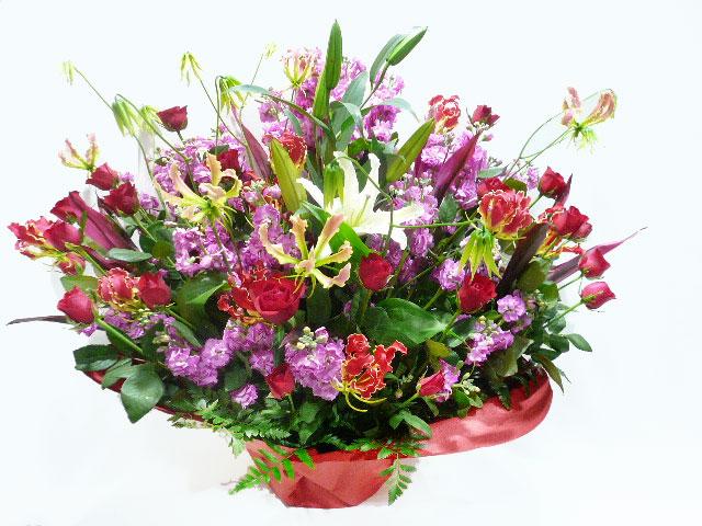 公演祝いに贈る花