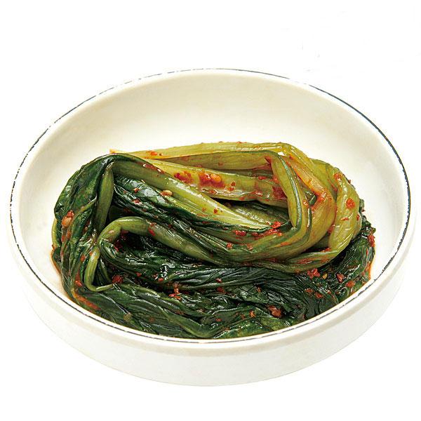 【ソウル市場】小松菜キムチ(冷蔵)250g 【予約注文商品】