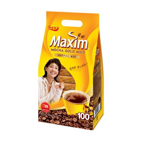 【MAXIM】マキシム・モカゴールド・コーヒーミックス(100包)