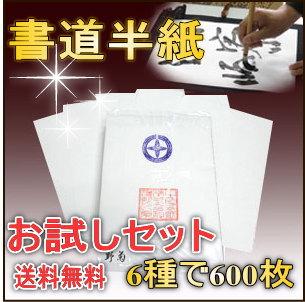 漢字用半紙お試しセット