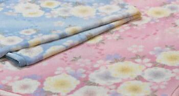 アクリル毛布(毛羽部分) 140×200cm 2K1114