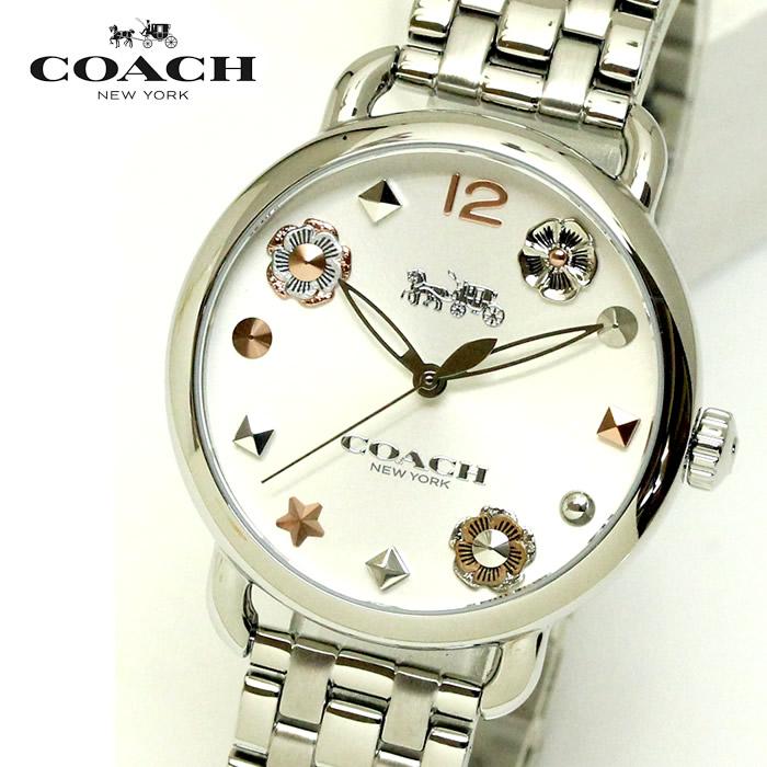 3d2b455a18 コーチ COACH レディース 腕時計 14502810 DELANCEY デランシーウィズ チャーム レディース腕時計ウォッチ シルバー 送料無料  ラッピング無料 人気 ブランド ...