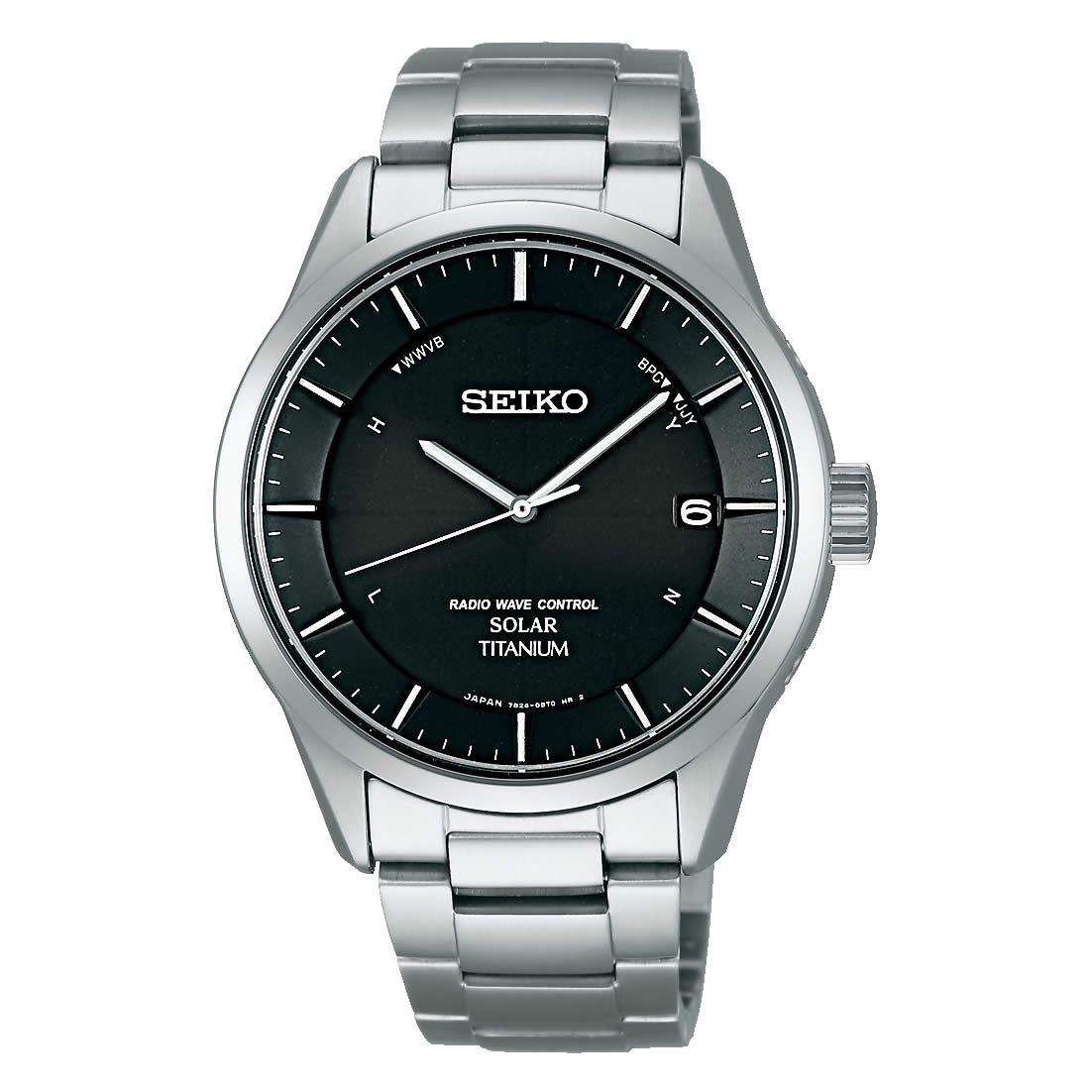0b30da128d セイコー スピリット SEIKO SPIRIT 腕時計 ソーラー 電波 チタン メンズ SBTM211 電池交換不要. 100M 10気圧防水  ビジネス シンプル 電波ソーラー ソーラー電波 金属 ...