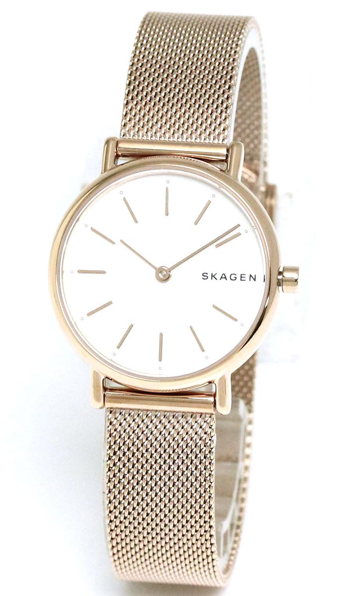 0bcde7f65c5c スカーゲン SKAGEN 腕時計 レディース SKAGEN ローズゴールド ホワイト SKW2694 ラッピング無料 人気 ブランド プレゼント  ギフト おすすめ ホワイトデー