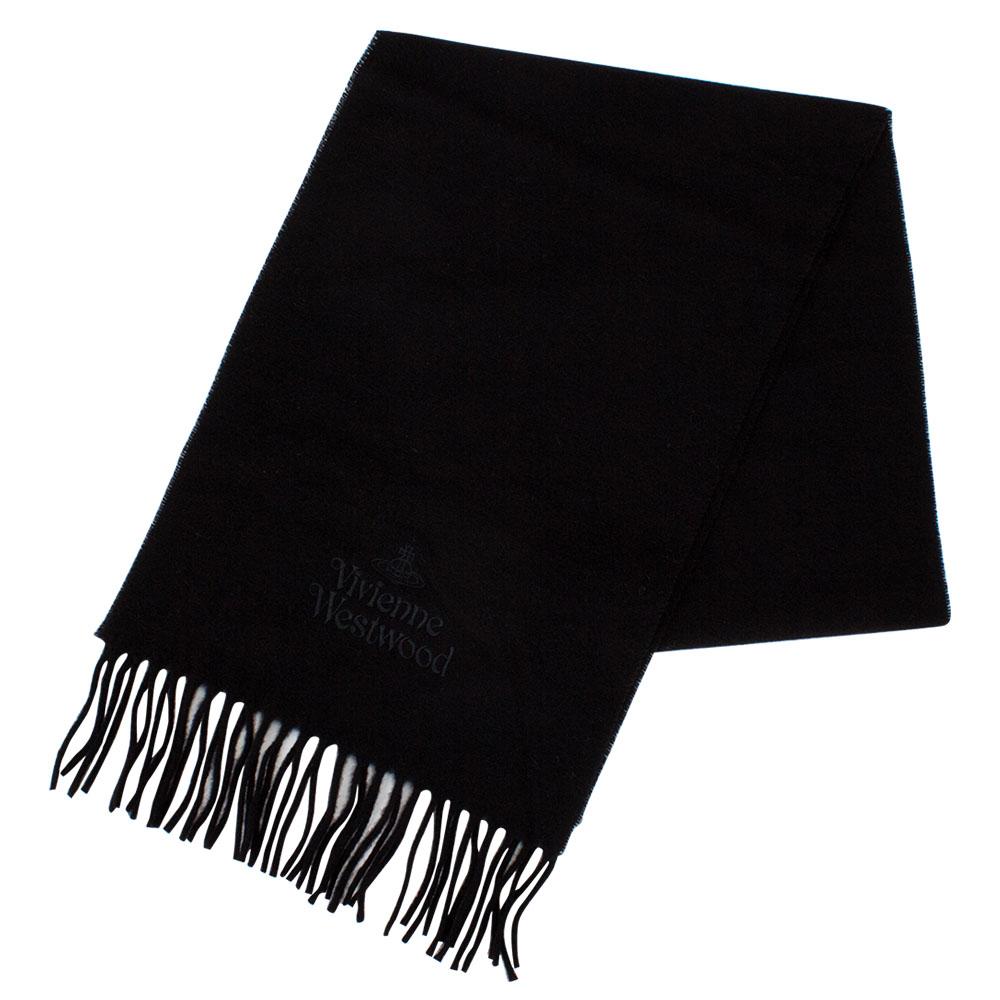 Vivienne Westwood ヴィヴィアンウエストウッド マフラー C54 909024 ブラック