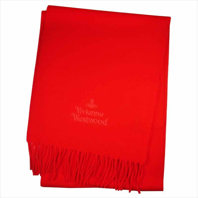 Vivienne Westwood ヴィヴィアンウエストウッド マフラー C54 909024 レッド