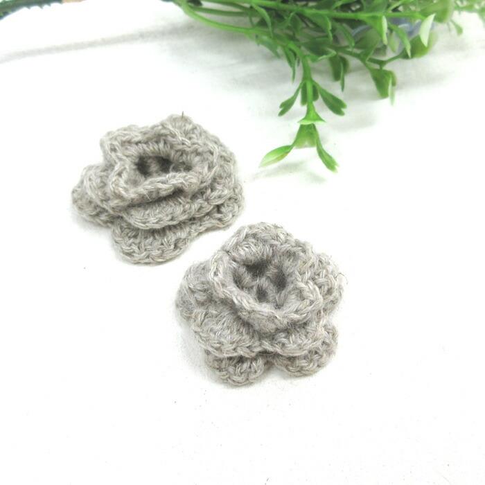 手編みモチーフ