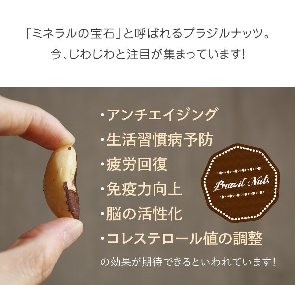 ハッピーナッツカンパニー 生ブラジルナッツ 55g
