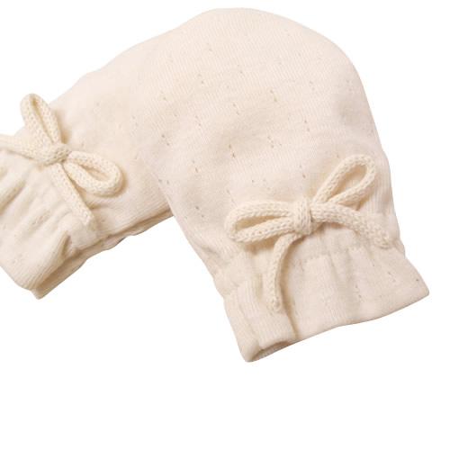 オーガニックコットンミトン手袋