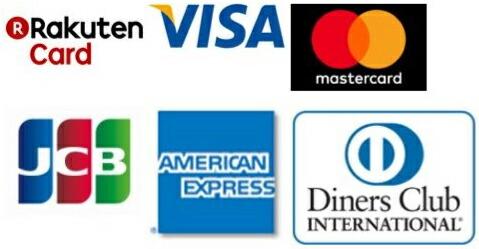 取扱いクレジットカード