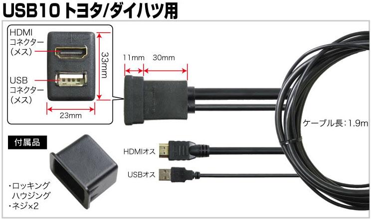 USB10 仕様