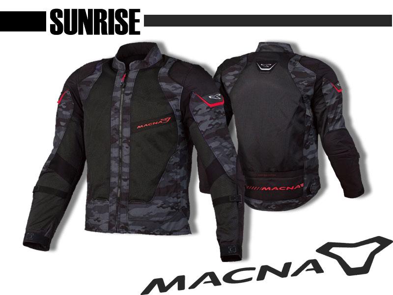 【MACNA SUNRISE】ツーリングメッシュジャケット