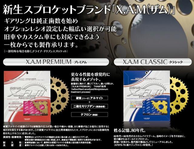 X.A.M XAM ザム スプロケット AFAM アファムの代替品