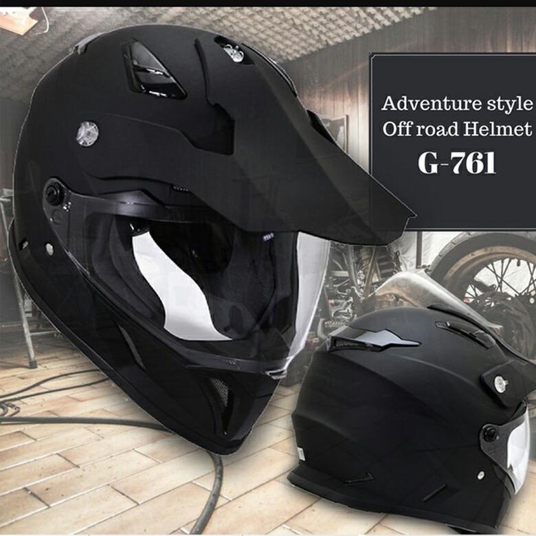 【SUM-WITH】シールド付きオフロードヘルメット