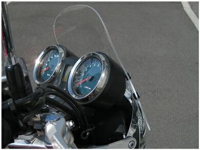 【NHRC】汎用 ミニスクリーン クリアー Mini screen Clear 【SB-A12-01】 CB1100