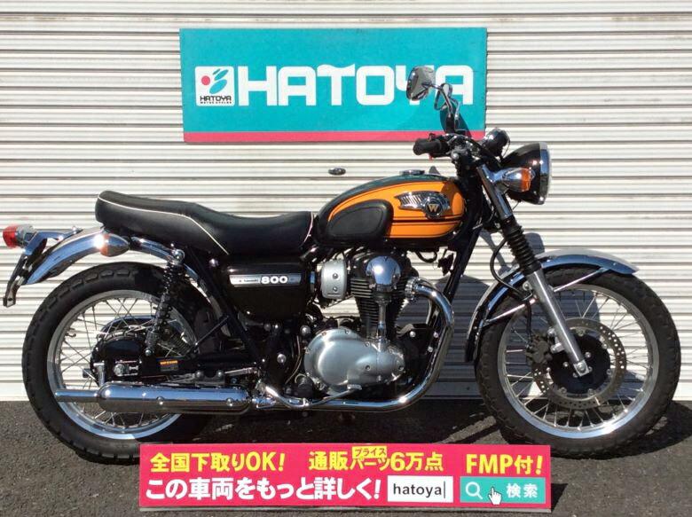 中古 カワサキ W800 KAWASAKI W800【1489u-toko】