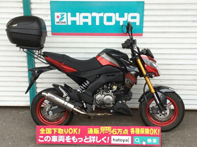 中古 カワサキ Z125プロ スペシャルエディション KAWASAKI Z125PRO SE【1664u-soka】