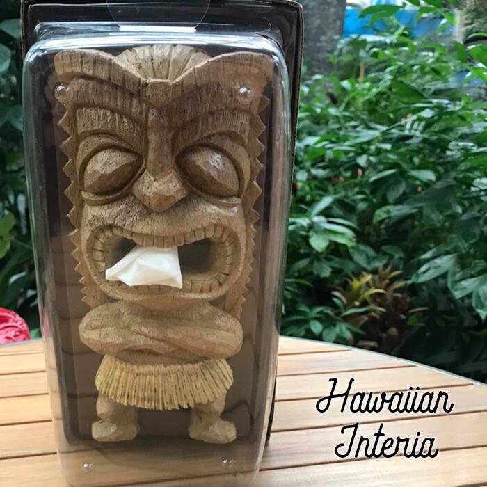 ハワイアンティッシュケース(TIKI・ライター)