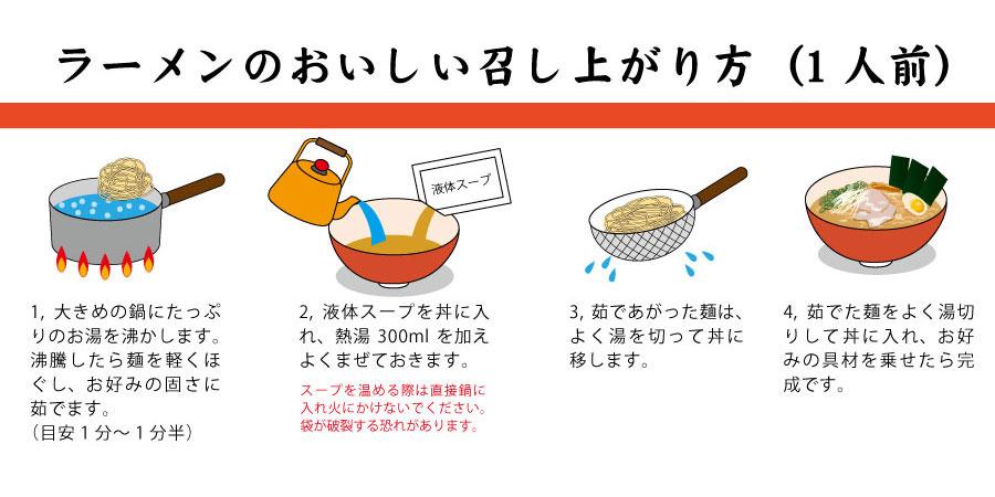 とんこつラーメンの美味しい作り方