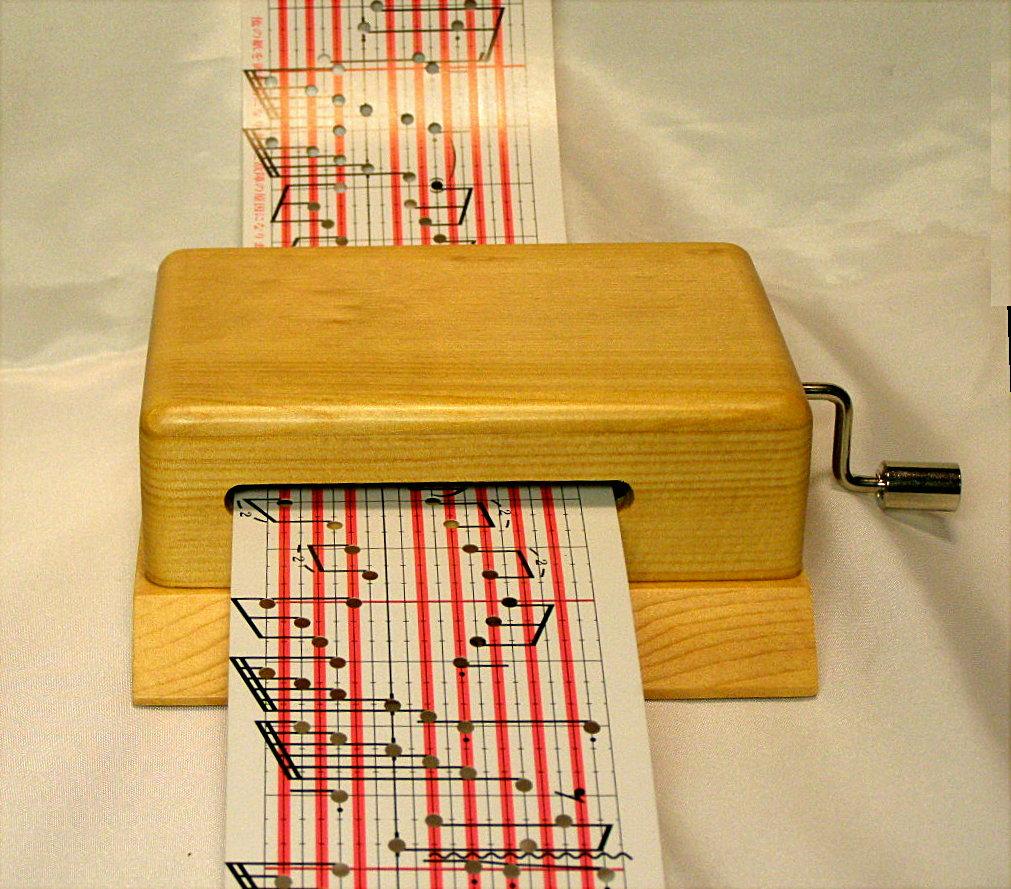 「カード式」オルゴール