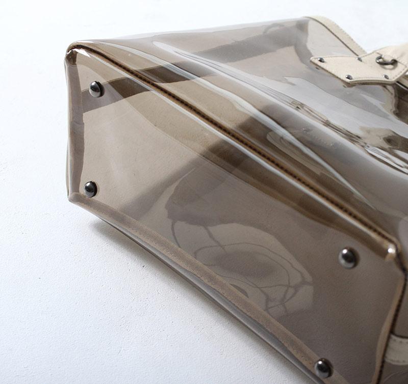 PVC バッグ トートバッグ ビニールバッグ クリアバッグ 透明トートバッグ ショルダーバッグ レディース ブランドバッグ インスタ 大人 人気 HAYNI ヘイニ