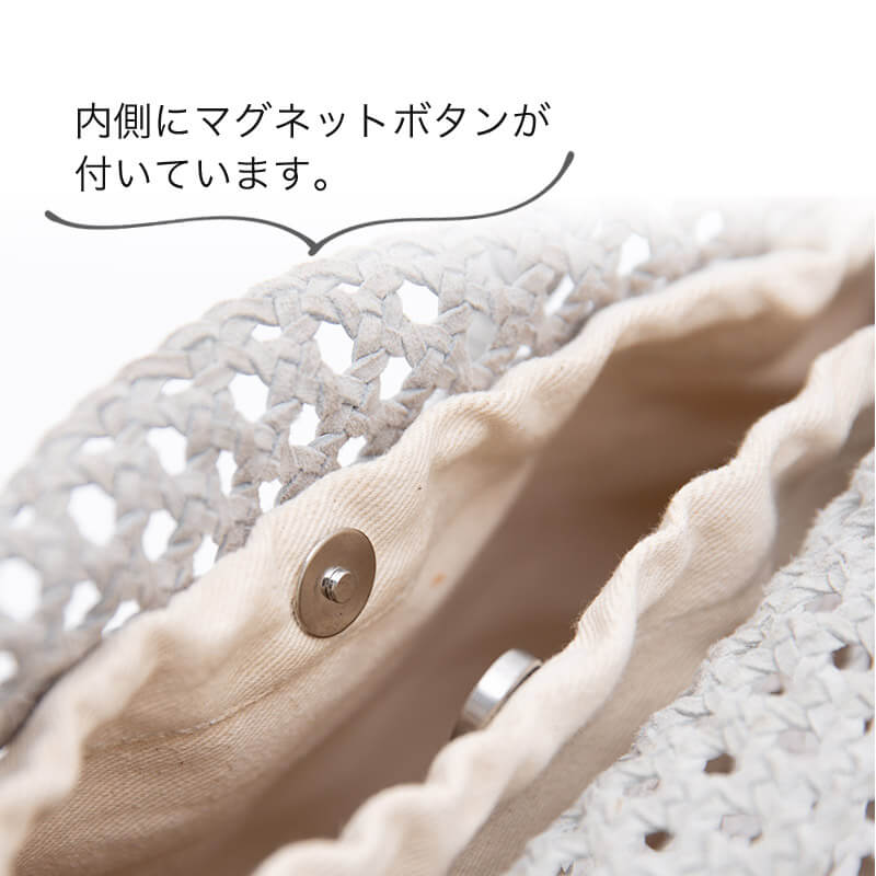 手編み レザートートバッグ 【 gato ガト 】大人  by HAYNI. ヘイニ