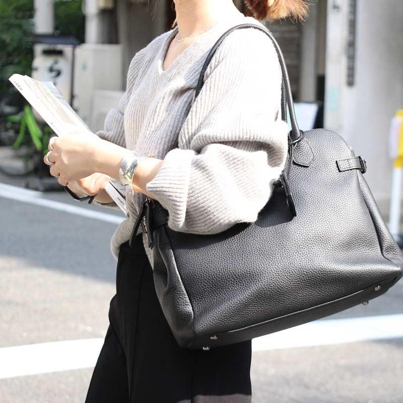 本牛革 ショルダーバッグ 通勤バッグ by HAYNI