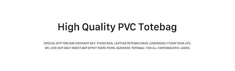 PVCバッグ PVC トートバッグ ビニールバッグ レディースブランドバッグ インスタ 大人 人気 HAYNI ヘイニ