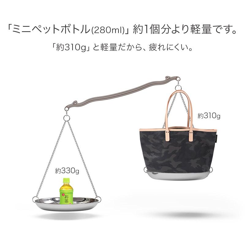 国産ヌメ革×防水加工PVCキャンバス  【 yutka M ウートカ Mサイズ 】