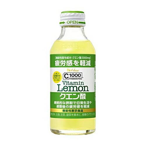 C1000 ビタミンレモン クエン酸C1000VLクエン酸 【140ml×6本】(ハウスウ...