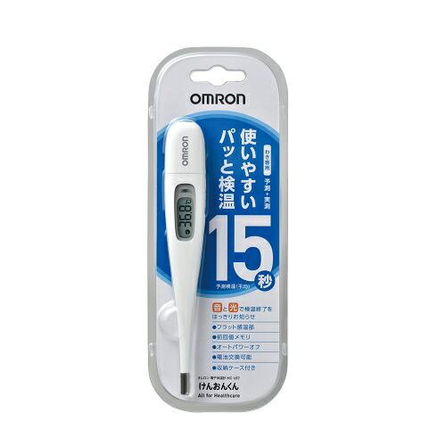 オムロン電子体温計MC-687 けんおんくん 【1個】