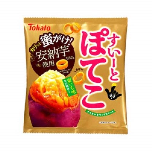 すいーとぽてこ 蜜いも味 【65g×12個】(東ハト)